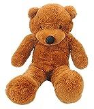 "Baby Children Adults Extra Soft 30"" Medium Brown Plush Fluffy Teddy Bear"