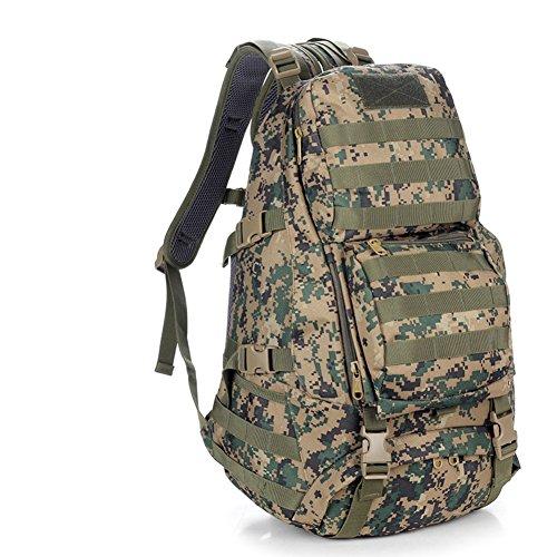 épaule Camouflage sac / ventilateurs militaires tactique / sac / sac à dos en plein air / sac d'alpinisme sac-4 50L