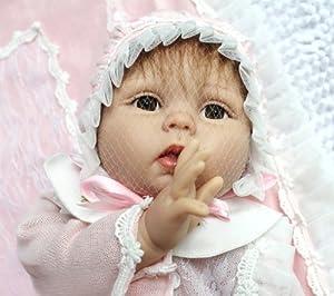 "TY Reborn Baby Doll 22"" Silicone Vinyl Lovely Reborn Baby ..."