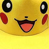 LOCOMO-adulto-Cute-Go-de-Pokemon-Pikachu-Ear-Gorra-de-bisbol-gorra-de-Bill-ffh337