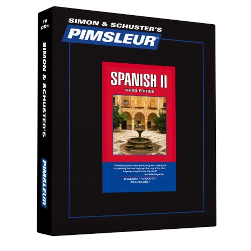 Pimsleur Spanish Level 2 CD: Learn to Speak and Understand Latin American Spanish with Pimsleur Language Programs (Comprehensive)