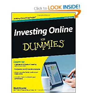 Investing Online For Dummies ebook
