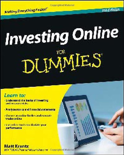Investing Online For Dummies Reviews