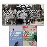 George Orwell George Orwell Modern Classics Collection 5 books Set. (Homage to Catalonia The road to Wigan pier Down and out in Paris and London Burmese Days Coming up for air)