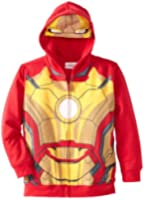 Marvel Boys' Ironman Ironchest Hoody