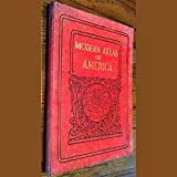 img - for Modern Atlas of America Accompanied by an Index-Gazetteer of the Principal Towns of the World book / textbook / text book