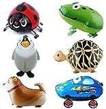 Amazon.co.jpSignstek ウォーキング 動物アルミバルーン 6種類セット  誕生日 パーティー装飾や子供のプレゼントに最高 (緑)