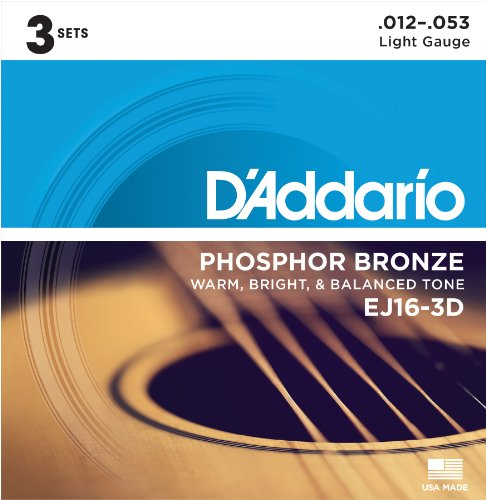 daddario-ej16-3d-phosphor-bronze-light-012-053-acoustic-guitar-strings-3-pack