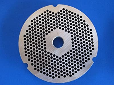 "#32 x 1/8"" STAINLESS STEEL Meat Grinder plate disc for Hobart LEM Cabelas Universal MTN & others"