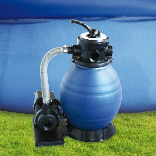 Kokido capri 880 gph 1 3 hp 12 swimming pool sand for Swimming pool filter pump motors