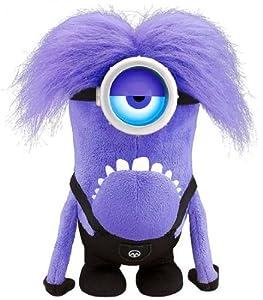 Amazon.com: Despicable Me Purple Minion Action Figure: Toys & Games