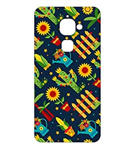 Happoz Letv LeEco Le 2 Cases Back Cover Mobile Pouches Patterns Floral Flowers Premium Printed Designer Cartoon Girl Graphic Armour Fancy Slim 3D Funky Shell Hard Plastic Graffiti Imported Cute Colurful Stylish Boys Z030