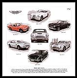 Aston Martin Car Art Print - DB5 DBS DB6 DB4 DB2/4 AM V8