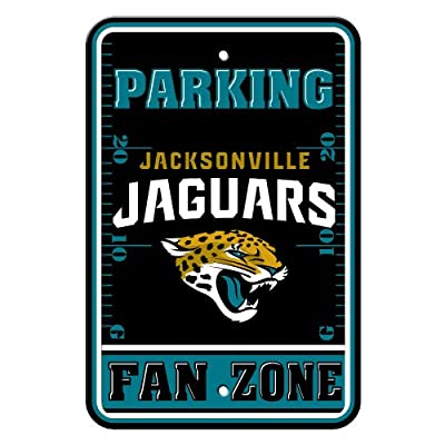 NFL Jacksonville Jaguars Fan Zone Parking Sign