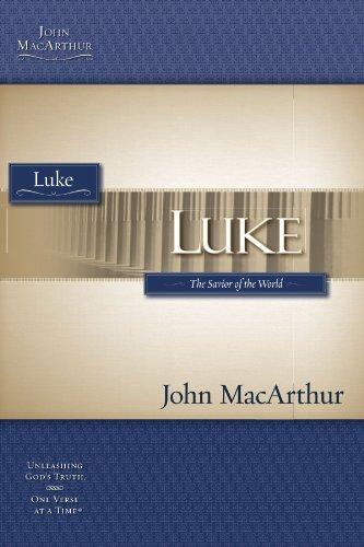 Luke (MacArthur Bible Studies)