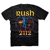 Rush 2112 40th Anniversary Starman Logo Adult T-shirt