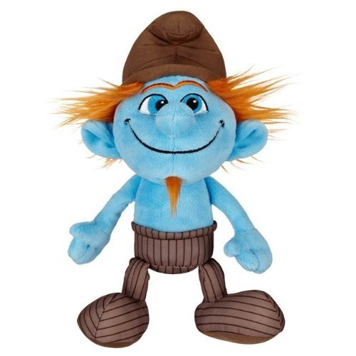 The Smurfs Bean Bag Plush Hackus, 8 Inch