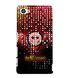 Bee Smart 3D Hard Polycarbonate Designer Back Case Cover for Sony Xperia Z5 Compact :: Sony Xperia Z5 Mini