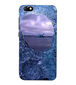 ColourCraft Amazing Water Effect Design Back Case Cover for HUAWEI HONOR 4X