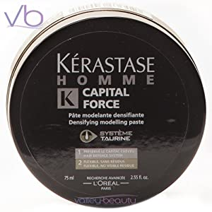 Kerastase Homme Capital Force Densifying Modeling Paste for Men, 2.55 Ounce