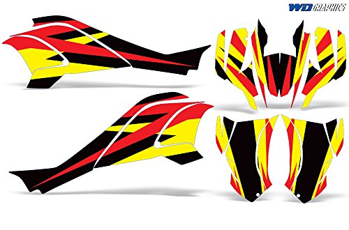 Wholesale Decals Can-Am DS 250 2006-2016 Custom Graphics Kit Bold Race Design (Can Am 250 compare prices)