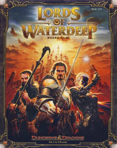 Lords of Waterdeep: A Dungeons & Dragons Board Game image
