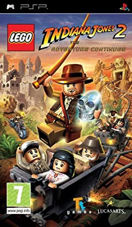LEGO Indiana Jones 2 The Adventure Continues (Sony PSP) (UK Import)