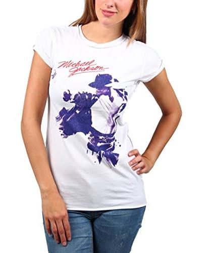 Amplified T-Shirt Vintage-Michael Jackson weiß