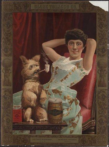 photo-globe-tobacco-cogold-flake-cut-plug-chewing-tobacco-by-historicalfindings