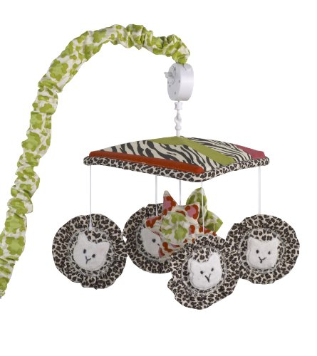 Cotton Tale Designs Musical Mobile, Here Kitty Kitty