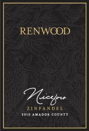 2011 Renwood Winery Niceforo, Amador County Zinfandel 750 Ml