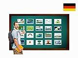 Nature Flashcards in German - Bildkarten - Natur