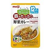 明治ベビーフード 赤ちゃん村 鉄分たっぷりシリーズ AT06 野菜カレー 80g×12個