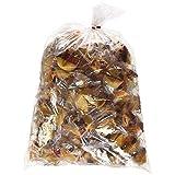 100 Pcs Fortune Cookies Fresh Single Wrap(golden Bowl) (Color: Gold, Tamaño: 1 bag)