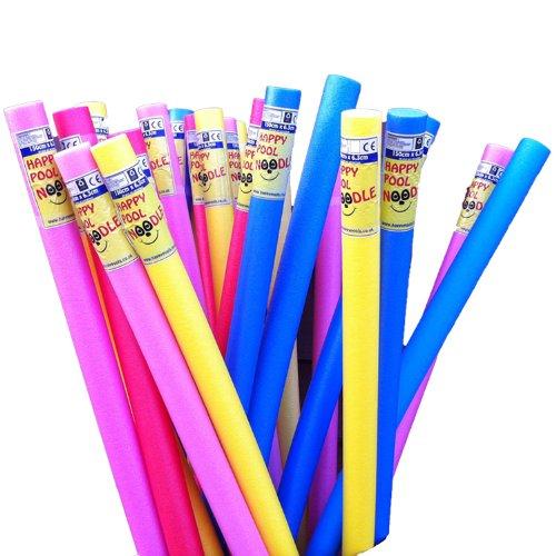 Happy Hot Tubs *Pretty Pink* Swimming Pool Noodle Float Aid Woggle Flexi Aqua Bestway Intex