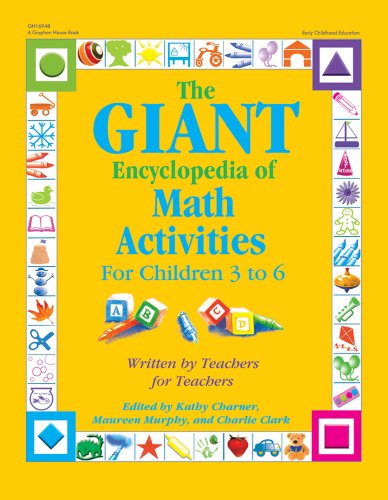 The GIANT Encyclopedia of Math Activities For Children Age 3 to 6 Over 600 Activities Created by Teachers for087659173X : image