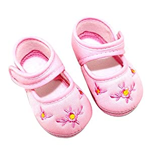 Froomer Zapatos floral de Lona calzado deportivo Zapatos de niña linda Zapatos de bebés marca Froomer