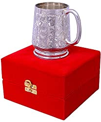 Jaipur Ace Silver Plated Beer Mug (Abs00073 )