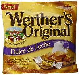 Werther\'s Original Dulce de Leche Caramels, 4.5 Ounce (Pack of 12)