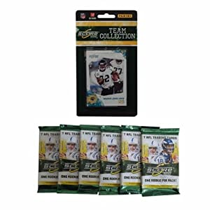NFL Jacksonville Jaguars 2010 Score Team Set with Six Score Football Packs by Panini