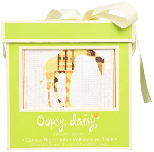 "Oopsy Daisy A to Z Animal Prints Night Light, Giraffe, 5"" x 4"""