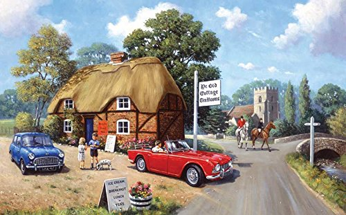 SunsOut Stop for Tea Jigsaw Puzzle (300-Piece)