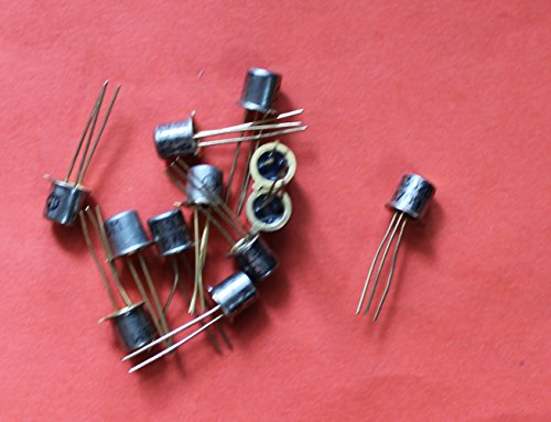 Transistors silicon KP302VM analogue 2N3972 USSR 10 pcs