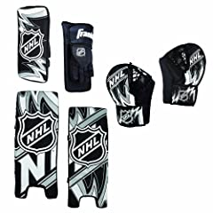 Buy Franklin Street Hockey NHL Goalie Set Youth Medium by Franklin