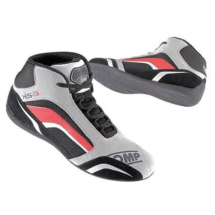 Omp - Chaussures Omp Ks-3 Gris/Rouge 41
