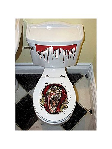 4 Must Have Scary Zombie Decor Items For Bathroom