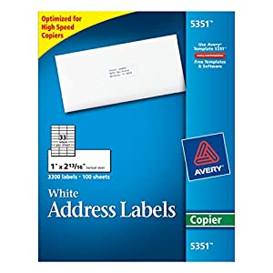 avery 2 x 3 label template - avery white mailing labels 1x2 3 4 office