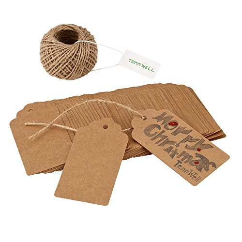 tenn-well-100pcs-gift-tags-brown-gift-kraft-wedding-paper-tags-with-100-feet-free-natural-jute-twine