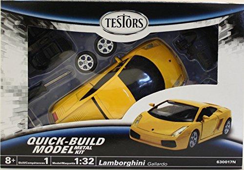 Testors Lamborghini Gallardo Car (1:32 Scale) (Lamborghini Model Car Kit compare prices)
