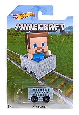 Hot Wheels Minecraft Steve Vehicle by Mattel